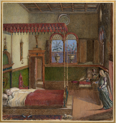 Copy after Carpaccio's Dream of St Ursula