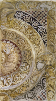 Study of a panel on the font of the Baptistery, Florence