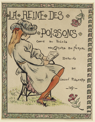 Frontispiece for 'La Reine des Poissons'
