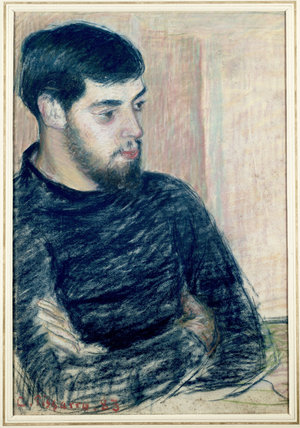 Portrait of Lucien Pissarro (1863-1944)