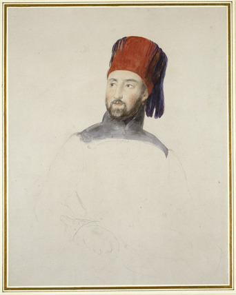 Portrait of Mustapha Redschild Pasha (1799-1858)