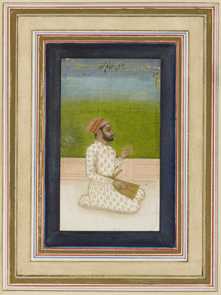Portrait of Khane-Alum, Commander of the Army of Shah Jehan