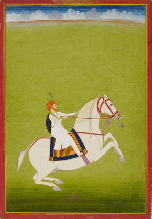 Mounted Rajput