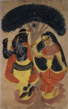 Radha and Krsna'
