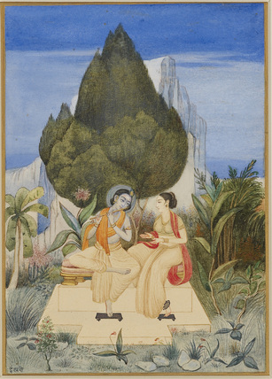 Radha and Krsna