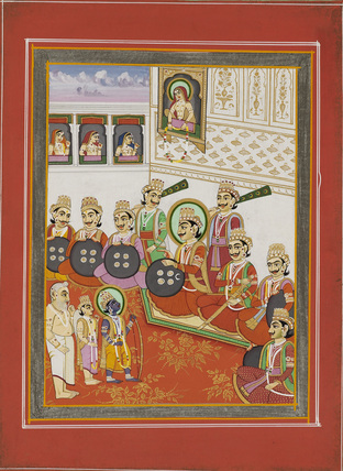 Rama at the Swayamvara