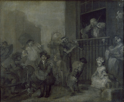 The Enraged Musician, c. 1741