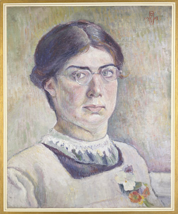 Self-portrait, 1913