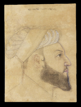 Head of the courtier Iltifat Khan