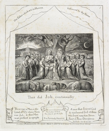 Illustrations to the 'Book of Job'