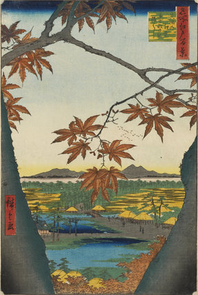 Maple Trees at Mama, Tekona Shrine, and Linked Bridge