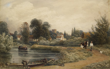 View of Iffley from the River