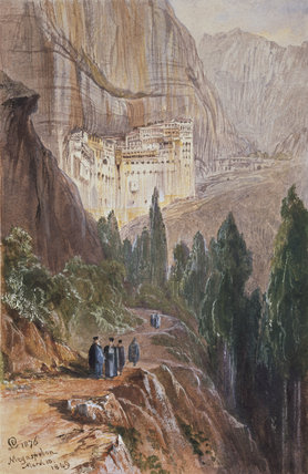 The Monastery of Megaspelion, 1876
