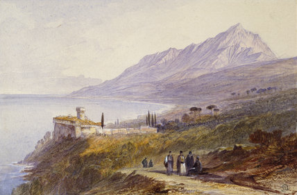 The Monastery of Stavronikita, Mount Athos, 1872