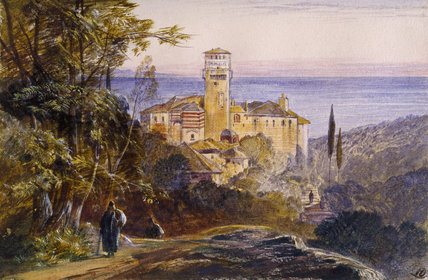The Monastery of Karakalo, Mount Athos