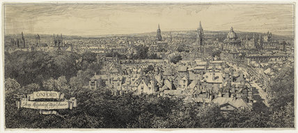 Oxford from Magdalen College Tower
