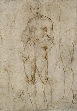 Verso: Nude Study for a St Paul