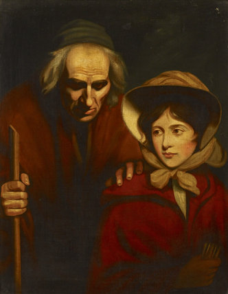 The Blind Beggar of Bethnal Green and his Daughter