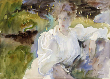 'Evening: Portrait of Miss Marion Barnard'