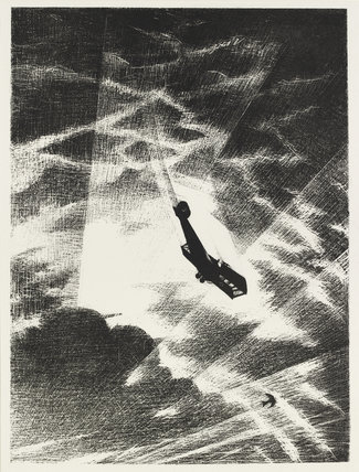Swooping down on a Taube, 1917