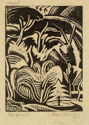 Tree Group (Tree Garden), 1919