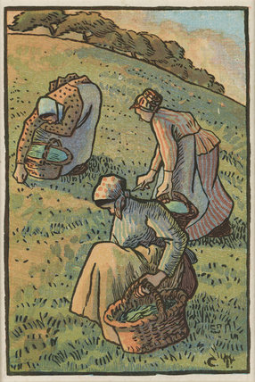 Femmes faisant de l'herbe (Women Weeding the Grass)