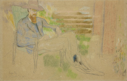 Portrait of Lytton Strachey (1880-1932)