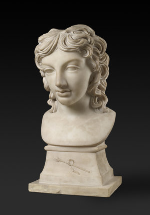Bust portrait of Prince Henry Lubomirski in the character of Bacchus
