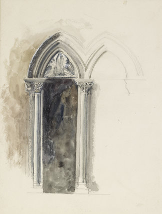 Design for a window in the University Museum, Oxford