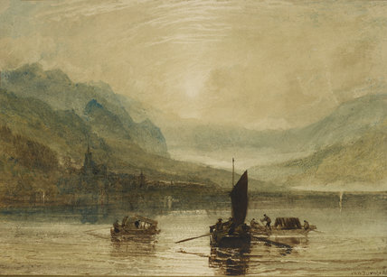 Lake of Brienz, Moonlight
