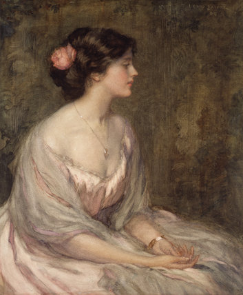 Portrait of a Young Lady (The Rosebud)