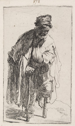 Beggar With a Wooden Leg