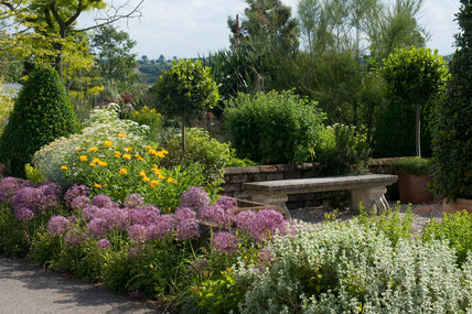 The Herb Garden at Hyde Hall