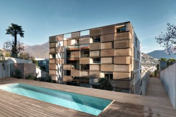 Lomocubes — is a new exclusive residence with 12 spacious apartments on 5 levels.