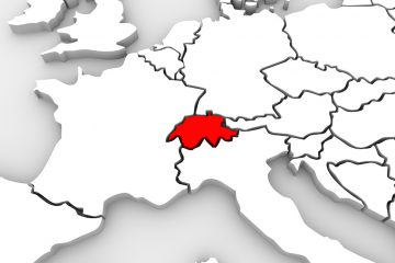 Switzerland is located in the heart of Europe