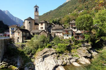 Canton Ticino is the southern canton of Switzerland with the Italian as the official language.