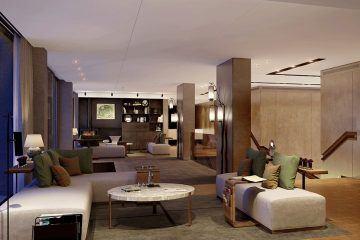 Holland Park Villas. Living room. Kensington.