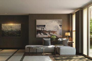 Holland Park Villas. Lounge. Kensington. Lounge