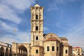 St. Lazarus Church is one of the finest examples of Byzantine architecture in all of Cyprus.