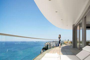 4-bedroom penthouse in Limassol Del Mar
