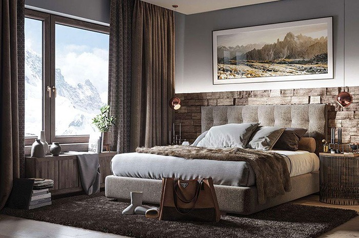Apartment in Alpenrose residence