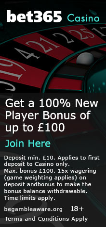Bet365 Banner – Casino Page