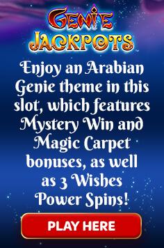 Genie Jackpots Sky Game page
