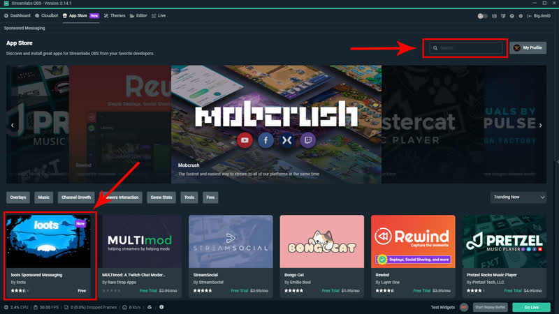 How To Use Streamlabs Obs With Mixer - Psnworld