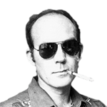 Hunter Thompson foto