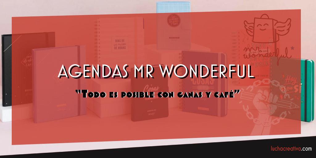 Agenda Mr Wonderful