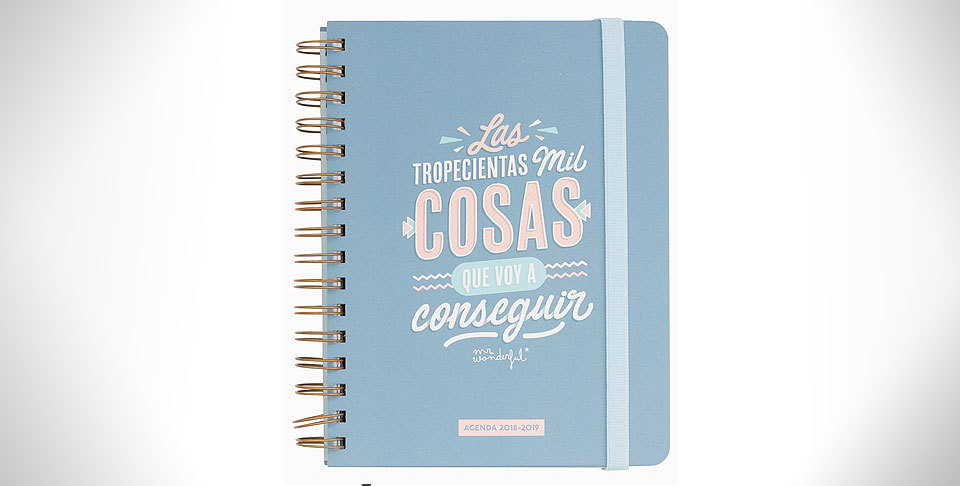 agenda clásica Mister Wonderful