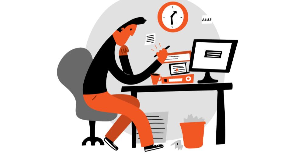 el método eisenhower y la procrastinación