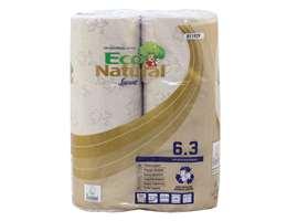 EcoNatural Toilet Rolls 3 Ply 250 sheet Havana