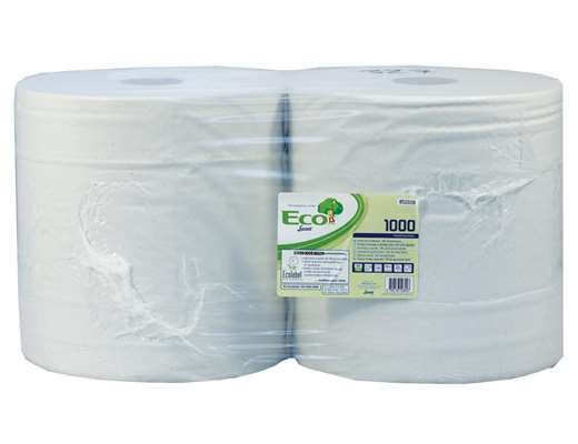 White 2 Ply Wiping Roll